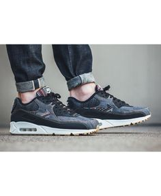 a659449e98 Cheap Nike Air Max 90 Premium Dark Obsidian Summit White Gum Light Brown  Mens Clearance