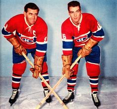 What's better than one Richard? Two Richards . Hockey Shot, Ice Hockey, Hockey Games, Hockey Players, Montreal Canadiens, Nhl, Little Boy Pictures, Maurice Richard, Hockey Pictures