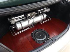 Image result for stanced car trunks