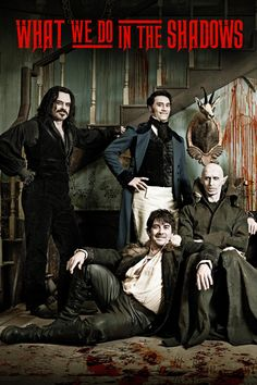 What We Do in the Shadows (2014) - A Horror Mockumentary Film About Dysfunctional Vampire Roommates. Just hilarious!