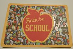 Back to School, Silhouette Cameo
