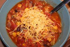 Vegetarian Chili, part 1