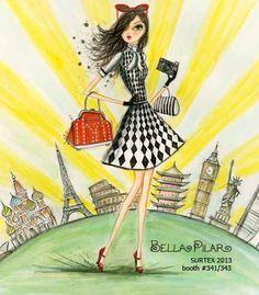 Bella Pilar around The world