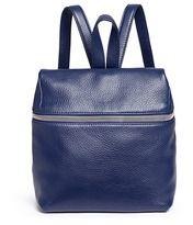 KARA Small pebbled leather backpack   LANE CRAWFORD saved by #ShoppingIS