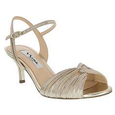 """Nina """"Camille"""" Peep Toe Sandal"""