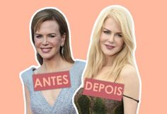 Nicole Kidman, Renée Zellweger e Courteney Cox são algumas das atrizes que continuam deslumbrantes sem aquele ar artificial