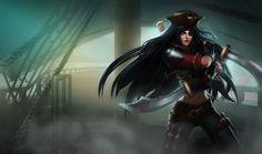 Anime female pirate