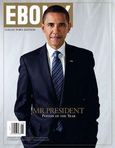 Barack Obama Ebony Magazine Cover January 2009