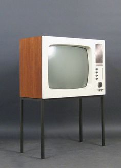 Herbert Hirche / Dieter Rams, TV set FS 60, 1964. Braun AG, Germany
