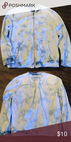 Tie dye zip up jacket Tie dye zip up jacket American Eagle Outfitters Jackets & Coats