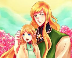 Finarfin and baby Finrod