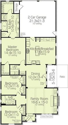 House Plan Number A Beautiful 3 Bedroom 2 Bathroom Home