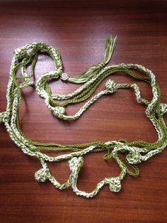 collana rosario Green
