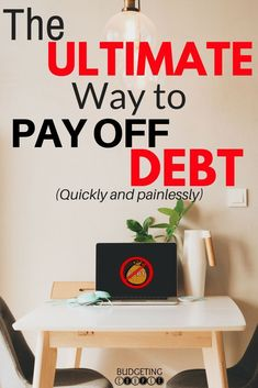 Check out Budgeting Couple Blog's ultimate way to pay off debt quickly while saving money!  Debt payoff doesn't have to be stressfull when you implement this one thing! You will start saving money on auto-pilot while paying off debt years sooner!! Budgeting Couple Blog | BudgetingCouple.com #debtpayoff #debthelp #budgetingcouple
