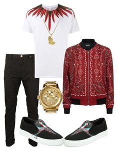 """Untitled #3718"" by styledbycharlieb ❤ liked on Polyvore featuring County Of Milan, Marcelo Burlon, Just Cavalli, Nixon and Roial"