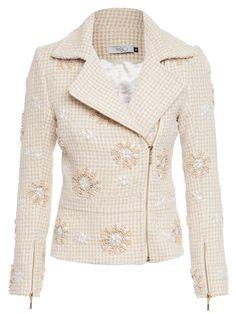 Winter Wear For Girl, Pat Bo, Blazers, Stylish Jackets, Fashion Outfits, Womens Fashion, Blazer Jacket, Tweed, Street Style