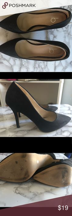 Black heels They are used. Bakers Shoes Heels