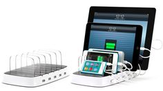 Charge All Your iOS Gear From a Single Outlet With Griffin's PowerDock 5