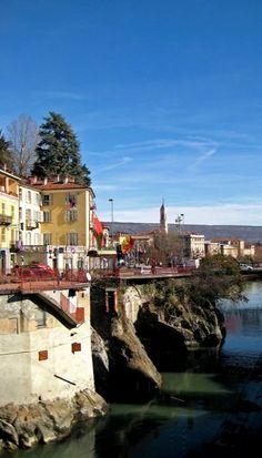 Ivrea la bella... Piedmont, Italy| Flickr - Photo by Phioma