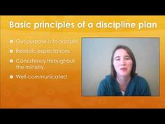 Discipline Plan for Children's Ministry...this video helped me so much. I was really at a loss for discipline. What's too harsh? Am I too strict? Will the kids stop coming if I enforce some rules? Ect. but this video really breaks it all down into manageable plan. Must watch for anyone in down into manageable plan. Must watch for anyone in children's ministry. :)
