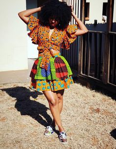 Fashion Studio, Fashion Show, African Fashion Designers, Mixing Prints, Her Style, Short Sleeve Dresses, Style Inspiration, Celebrities, Shopping