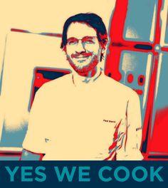 Nuestro chef Paul Ibarra se va de gira por USA con un grupo de cocineros vizcaínos y cocinarán para Barak Obama.