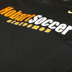 The Hobart Soccer Team gear is an order we enjoy doing every year! #design #custom #graphicdesign #embroidery #screenprinting #tshirt #apparel #Hobart #soccer #team