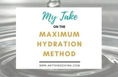 The Maximum Hydration Method has been taking the natural hair community by storm. Here's a step-by-step breakdown of the Maximum Hydration Method Natural Hair Regimen, Natural Hair Styles, How To Hydrate Hair, Maximum Hydration Method, Bentonite Clay Benefits, Hair Porosity, How To Find Out, Beauty, Cosmetology