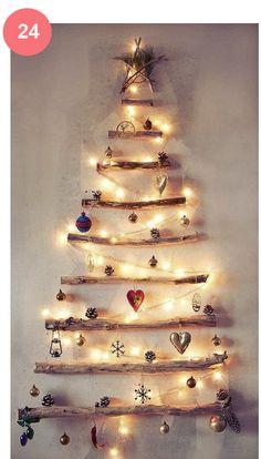 Decoração de Natal - 40 Ideias simples - blog Vera Moraes - Decoração - Adesivos Azulejos - Papelaria Personalizada - Templates para Blogs