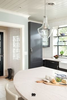modern farmhouse kitchen design high end dont let the traditional concept of kitchen island determine your next project consider curved edge countertop as shown here in our ella design 28 best modern farmhouse images on pinterest 2018 kitchens
