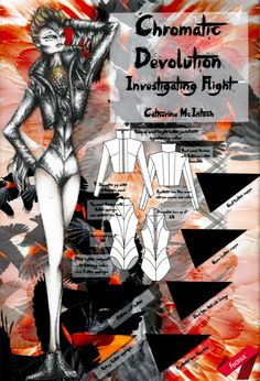 The year Style Lab™ exam challenged the students to design in one head-to-toe colour according to the theme 'Chromatic Devolution' using mostly leather. Conceptual Design, Elements Of Design, Apparel Design, Creative Design, Students, Designers, Toe, Colour, Leather