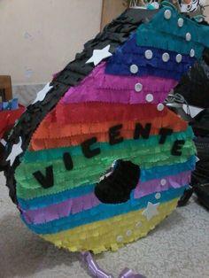 Piñata nº 6, tema arcoiris