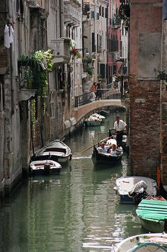 Channel in Venice - Venice, Venice
