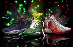 "2ebce1d0a00 BMF Holiday  Reebok Classic s ""Ghost of Christmas"" Nike Huarache"