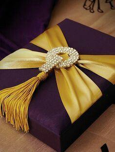 """fabandluxe: """" Gorgeous #giftwrap """""""