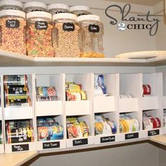Simple {DIY} Canned Food {Pantry Organizer!}