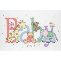 Craft Boutique - Baby Animals Cross Stitch Kit from Anchor