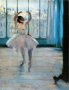 Edgar Degas Dancer in Front of a Window print for sale. Shop for Edgar Degas Dancer in Front of a Window painting and frame at discount price, ships in 24 hours. Cheap price prints end soon. Edgar Degas, Degas Ballerina, Ballerina Painting, Claude Monet, Ballerine Degas, Degas Paintings, Painting Prints, Art Prints, Canvas Art
