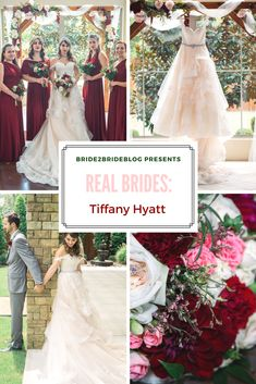 Tiffany and Kade had an absolutely stunning wedding at The Chapel at Ana Villain Texas. The beautiful light pink and merlot color story here is truly a g