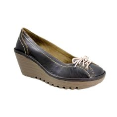 Fly London Yio Wedge - Dark Brown #Sale Now only $93