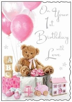 The Best Happy First Birthday Quotes citations de fille d'anniversaire. Happy Birthday Qoutes, Special Happy Birthday Wishes, Happy Birthday Daughter, Birthday Girl Quotes, Birthday Wishes For Friend, Happy First Birthday, Girl Birthday Cards, Happy 1st Birthdays, Happy Birthday Images