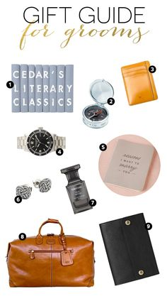 The Ultimate Gift Guide for Grooms