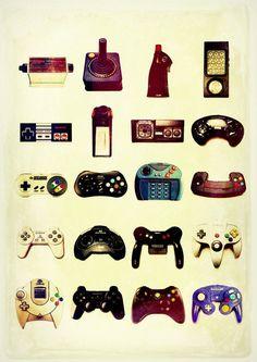 Cambio de los controles de videojuegos
