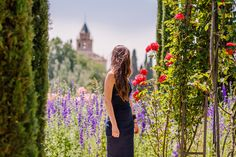 blog-View of Alhambra at Generalife, Granada, Spain - Bold Bliss