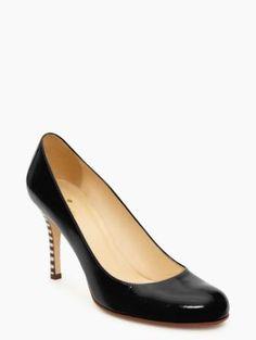 d0f50545c7f5 karolina. Kate Spade DesignerGreen HeelsBlack PumpsPatent HeelsSpring ShoesCrazy  ...