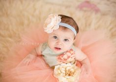 Cream flower headband with fancy by DanicasChicBowtique on Etsy, $12.95