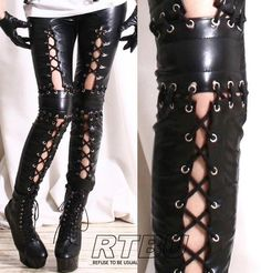 I found 'Visual Kei Leggings' on Wish, check it out!