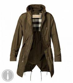 Burberry Brit Bartleigh Cotton Blend Parka Jacket | Fashion ...