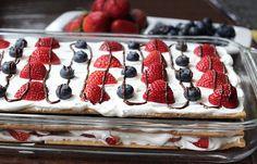 Very Berry Ice Box Cake | Weight Watchers Recipes