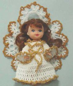 Maggie's Crochet · Free Angel Joy Doll Pattern